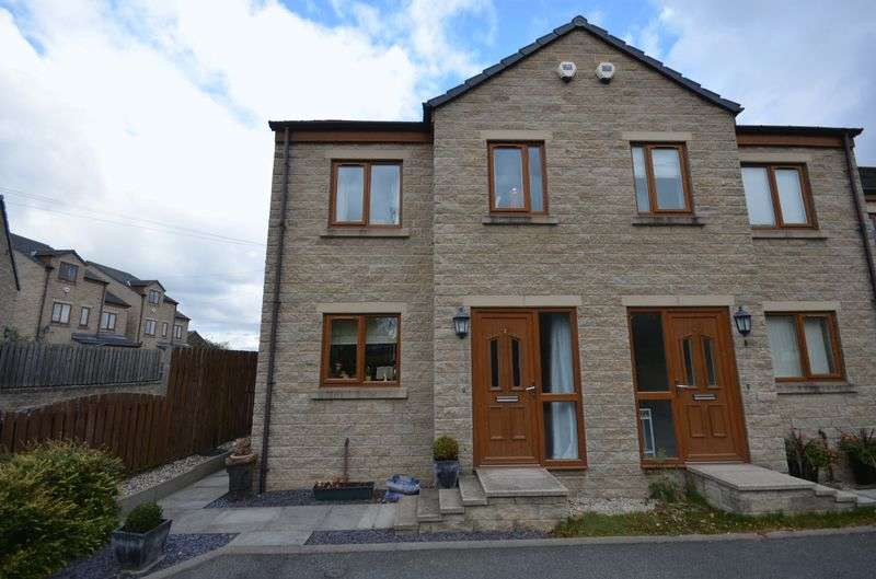 3 Bedrooms Semi Detached House for sale in Swincliffe Gardens, Cleckheaton, BD19