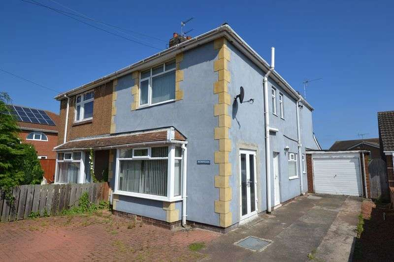 3 Bedrooms Semi Detached House for sale in Old Ferneybeds Road, Widdrington