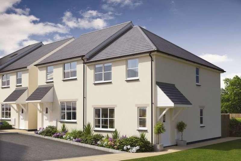 3 Bedrooms Semi Detached House for sale in Tregea Parc Feadon Lane, Portreath, Redruth, TR16