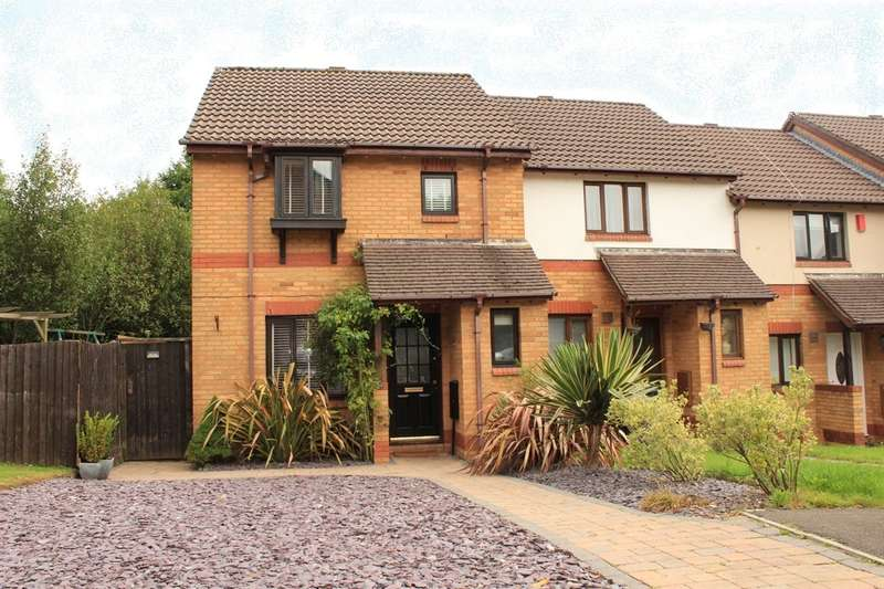 3 Bedrooms End Of Terrace House for sale in Clos Y Gwalch, Cardiff