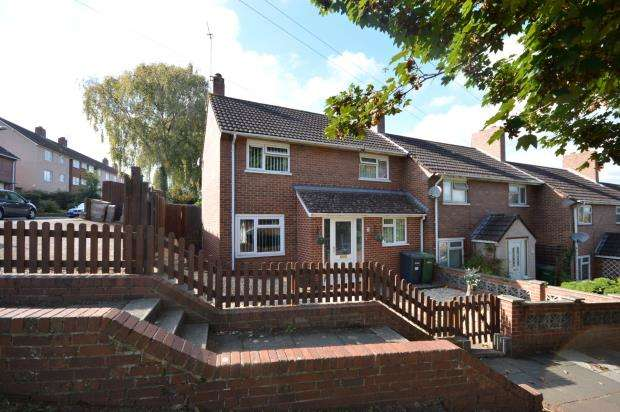 3 Bedrooms End Of Terrace House for sale in Hillyfield Road, Whipton, Exeter, Devon
