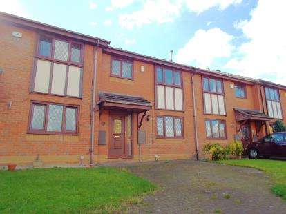 3 Bedrooms Terraced House for sale in New Wellington Close, Mill Hill, Blackburn, Lancashire, BB2