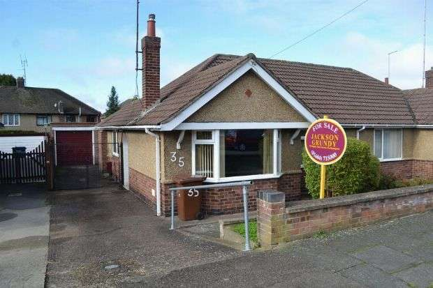 2 Bedrooms Semi Detached Bungalow for sale in Coppice Drive, Spinney Hill , Northampton NN3 6ND