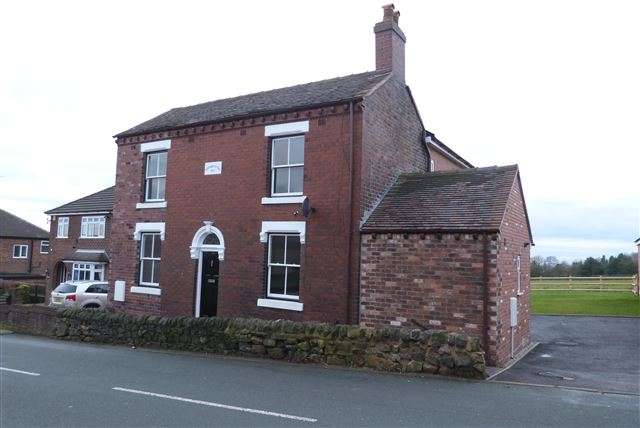 4 Bedrooms Detached House for sale in 11a, Chapel Lane, Harriseahead, Staffordshire, ST7 4JN
