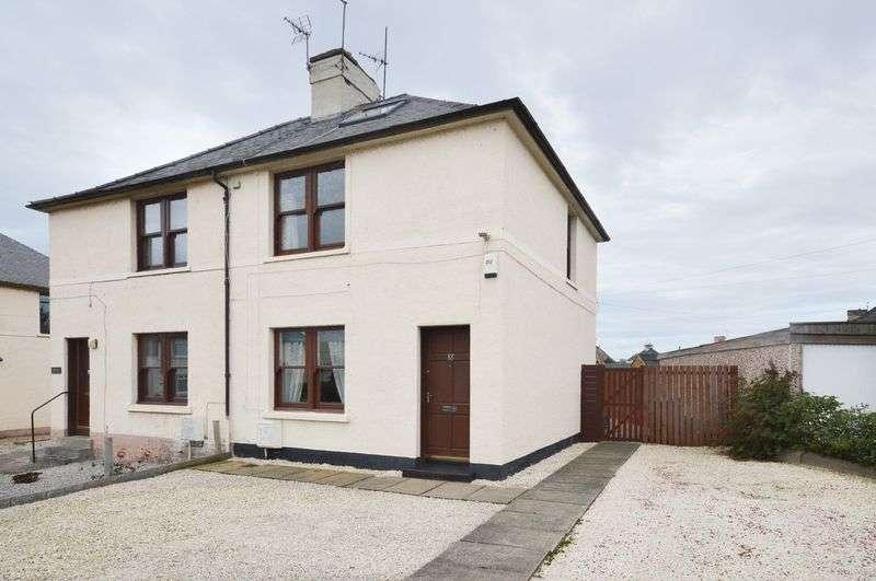2 Bedrooms Semi Detached House for sale in 18 Gardiner Road, Prestonpans, East Lothian, EH32 9HF