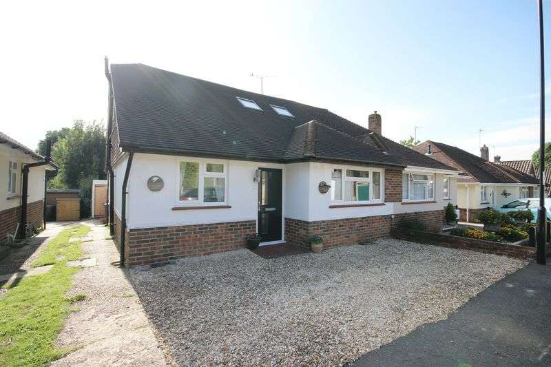 3 Bedrooms Semi Detached Bungalow for sale in Meeds Road, Burgess Hill, West Sussex.