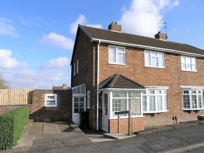 3 Bedrooms Semi Detached House for sale in Bramble Green, Old Park Farm estate, Dudley