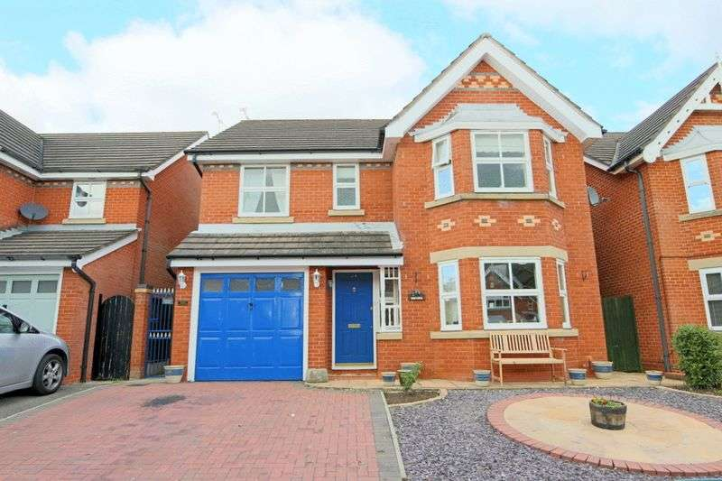 4 Bedrooms Detached House for sale in Church Way, Wybunbury, Nantwich