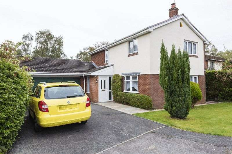 4 Bedrooms Detached House for sale in Uplands, Delamere Park, Cuddington, CW8 2XL