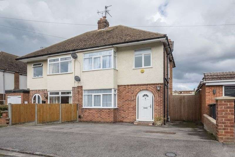 3 Bedrooms Semi Detached House for sale in Link Road, Rushden