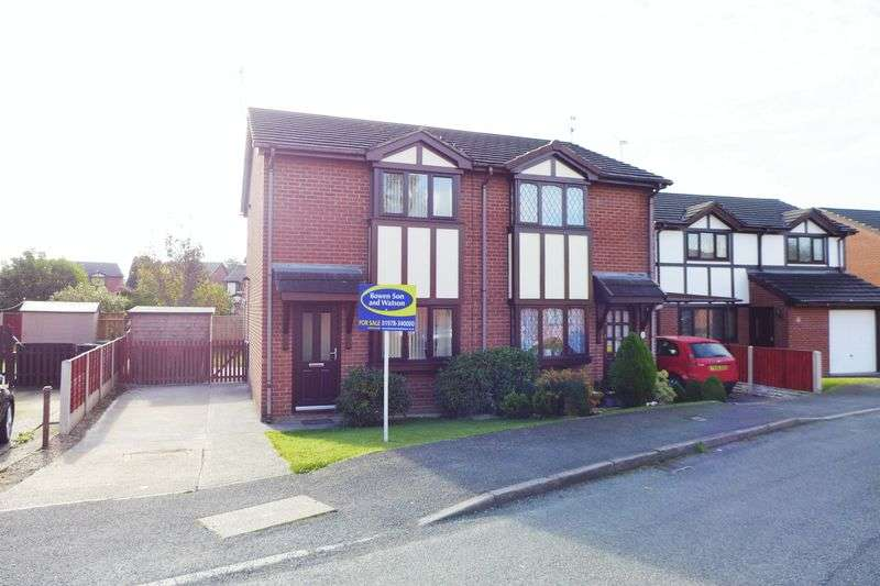 2 Bedrooms Semi Detached House for sale in Cil Y Coed, Wrexham