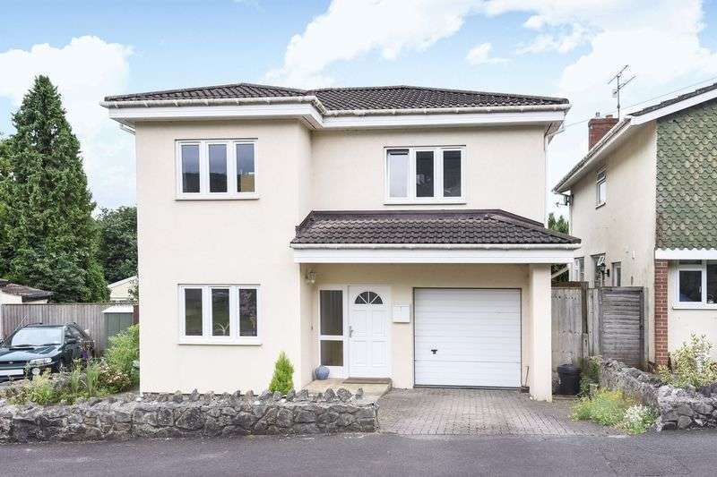 4 Bedrooms Detached House for sale in Mewswell Drive, Cheddar