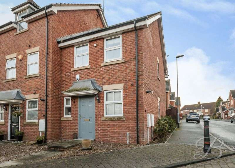 2 Bedrooms Terraced House for sale in Broadlands Close, Sutton-In-Ashfield