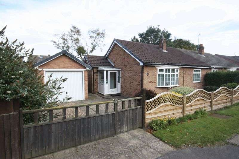 2 Bedrooms Semi Detached Bungalow for sale in Main Street, Wilberfoss