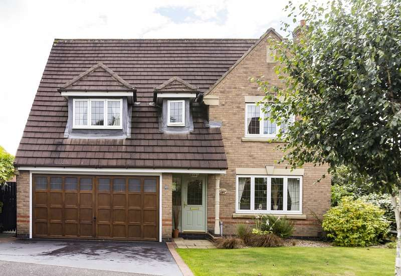 4 Bedrooms Detached House for sale in Balmoral Road, Coalville, Leicestershire, LE67