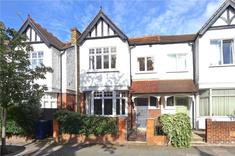 4 Bedrooms Terraced House for sale in Grafton Road, Acton, London, W3