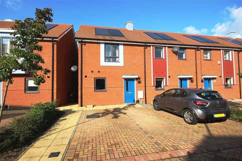 2 Bedrooms End Of Terrace House for sale in Heathland Way, Woodside