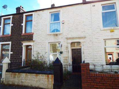 2 Bedrooms Terraced House for sale in Marsh Terrace, Darwen, Blackburn, Lancashire