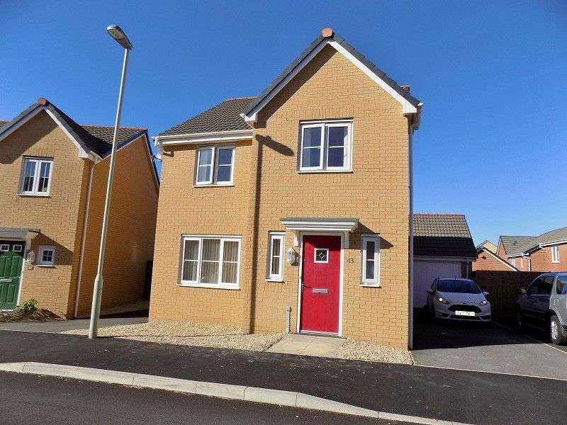 4 Bedrooms Detached House for sale in Heol Bryncethin , Sarn, Bridgend. CF32 9GG