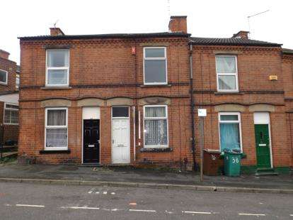2 Bedrooms Terraced House for sale in Norwood Road, Radford, Nottingham, Nottinghamshire