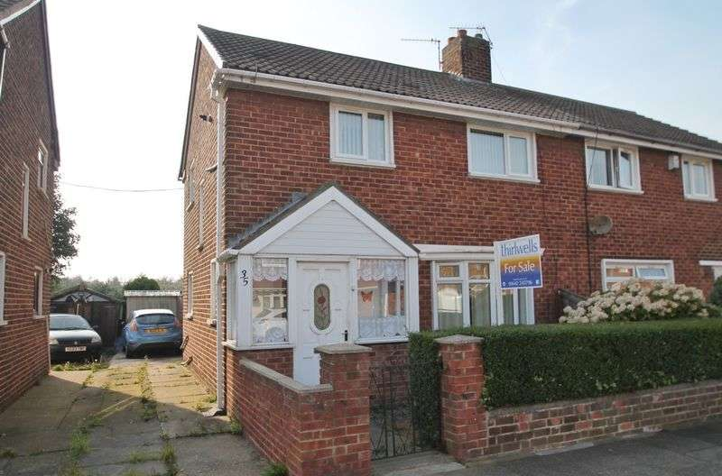 3 Bedrooms Semi Detached House for sale in Evesham Road, Park End