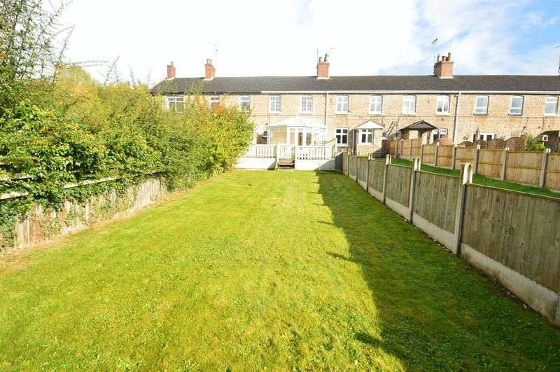 3 Bedrooms Terraced House for sale in The Rocks, Warsop Vale