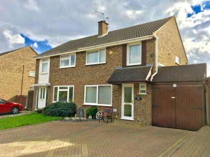 3 Bedrooms Semi Detached House for sale in Redhill Road, Hitchin, Hertfordshire, England