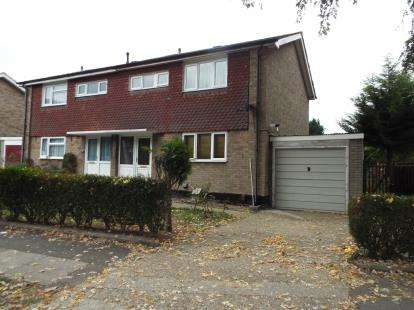 3 Bedrooms Semi Detached House for sale in Radburn Way, Letchworth Garden City, Hertfordshire