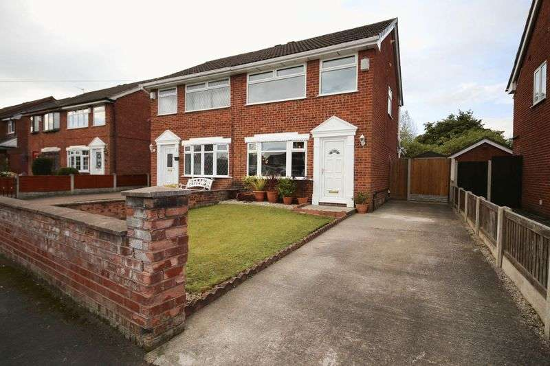 3 Bedrooms Semi Detached House for sale in Loxton Crescent, Hawkley Hall, Wigan