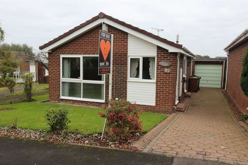 2 Bedrooms Detached Bungalow for sale in Withernsea Grove, Ryhope, Sunderland