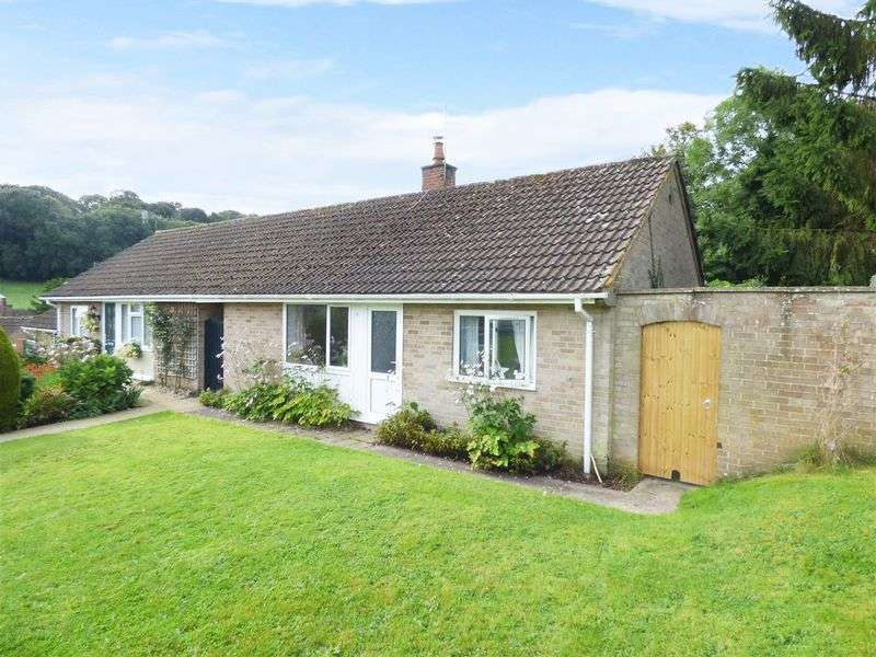 3 Bedrooms Semi Detached Bungalow for sale in The Poplars, Fovant