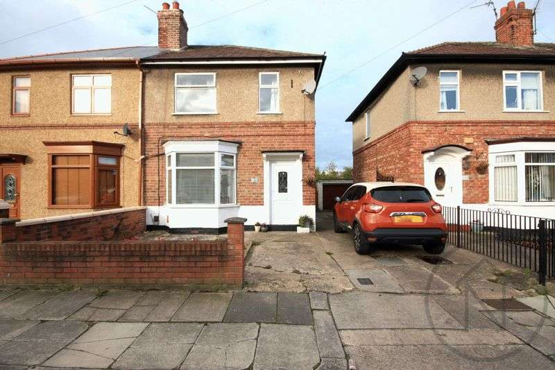2 Bedrooms Semi Detached House for sale in The Stray, Darlington