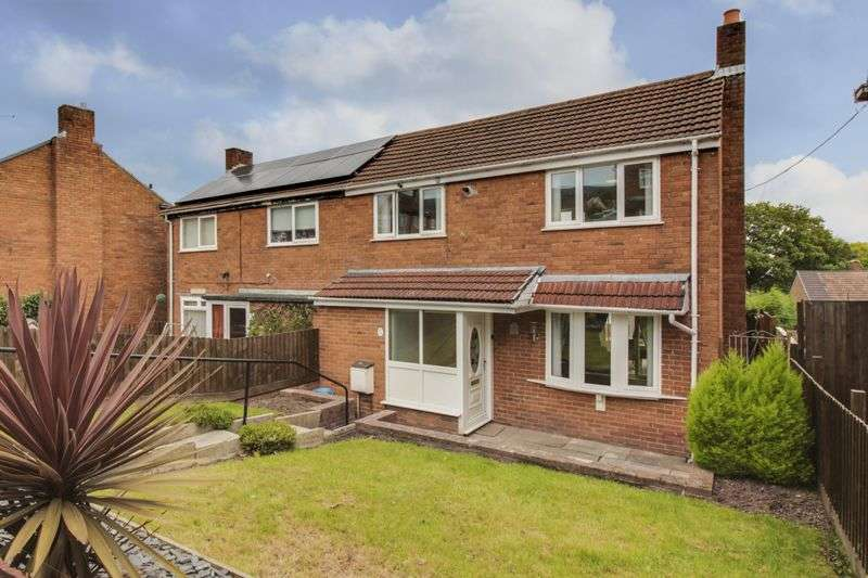 2 Bedrooms Semi Detached House for sale in Maendy Way, Cwmbran