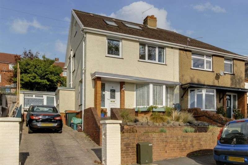 4 Bedrooms Semi Detached House for sale in Wordsworth Road, Newport