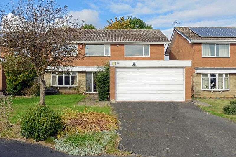 4 Bedrooms Detached House for sale in Stokesay Way, Sutton Heights, Telford, Shropshire