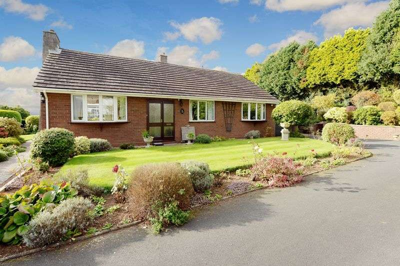 3 Bedrooms Detached Bungalow for sale in Clee Rise, Little Wenlock, Nr. Telford, Shropshire.