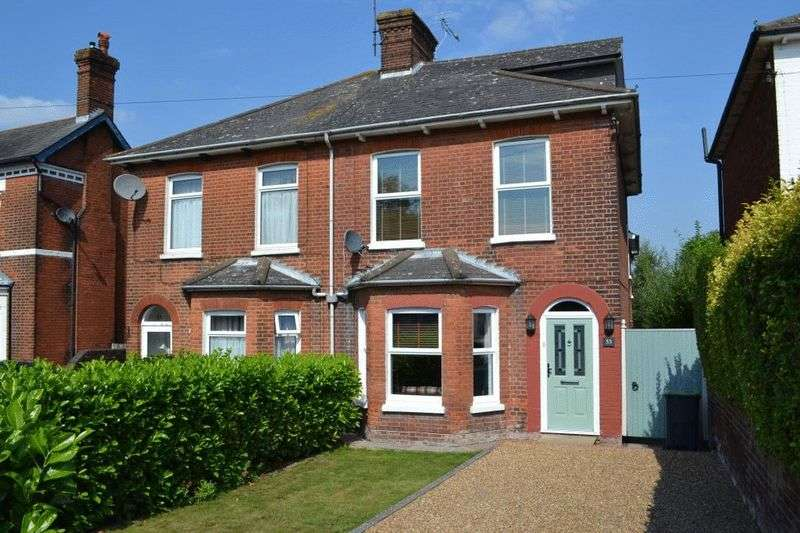 4 Bedrooms Semi Detached House for sale in Pembury Road, Tonbridge