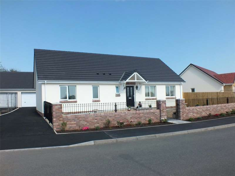 3 Bedrooms Detached Bungalow for sale in Plot No 48, Myrtle Meadows, Steynton, Milford Haven