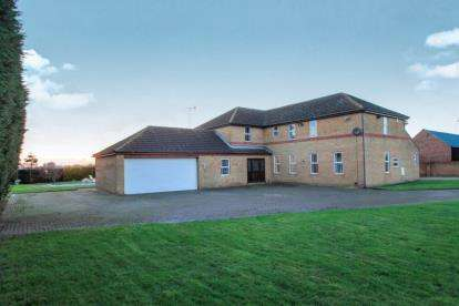 5 Bedrooms Detached House for sale in Conquest Drove, Farcet, Peterborough, Cambridgeshire