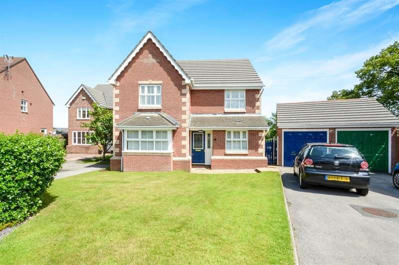 4 Bedrooms Detached House for sale in Rhodfa Glascoed, Blackwood