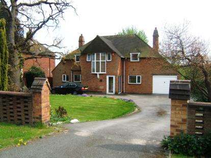 4 Bedrooms Detached House for sale in Beamhill Road, Stretton, Burton-On-Trent, Staffordshire