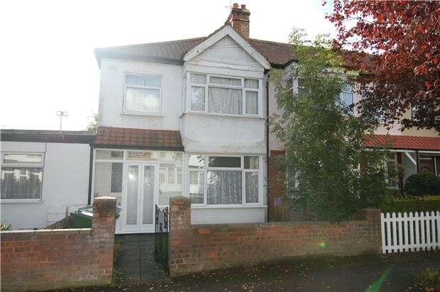 3 Bedrooms Terraced House for sale in Queensbury Road, LONDON, NW9 8LT