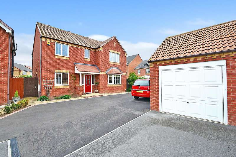 4 Bedrooms Property for sale in Cranfleet Way, Long Eaton