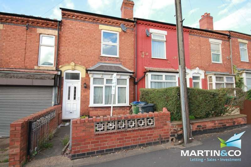 2 Bedrooms Terraced House for sale in Three Shires Oak Road, Bearwood