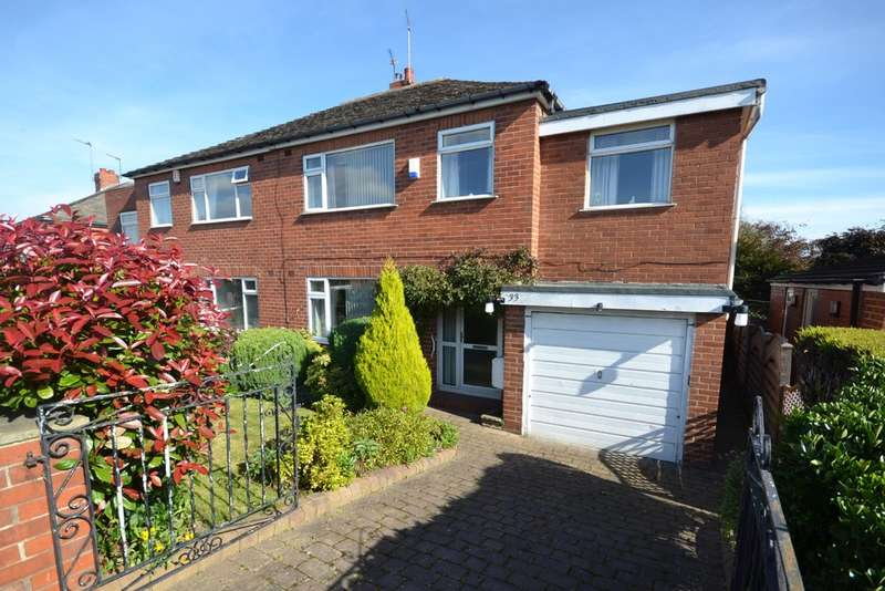 4 Bedrooms Semi Detached House for sale in Gagewell Drive, Horbury