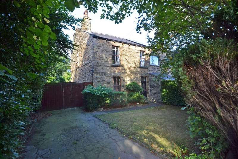 3 Bedrooms Semi Detached House for sale in Stocksmoor Road, Midgley, Wakefield