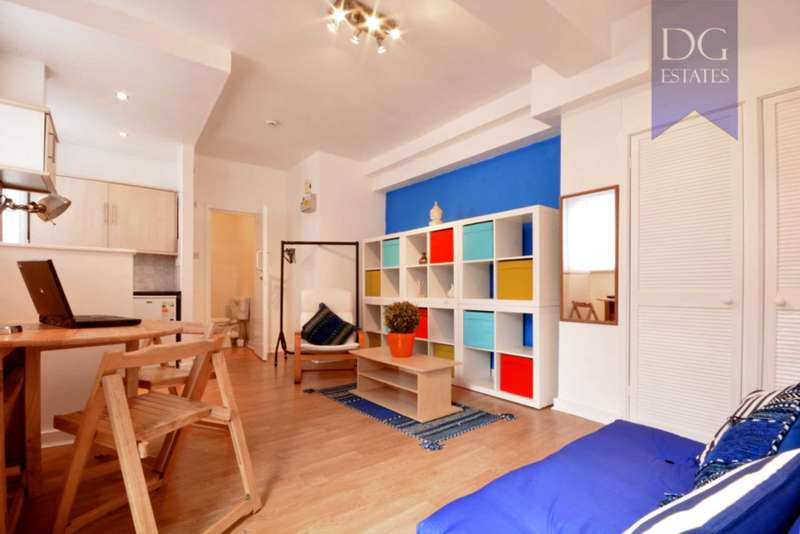 1 Bedroom Studio Flat for sale in Clarence Place, Clapton Park
