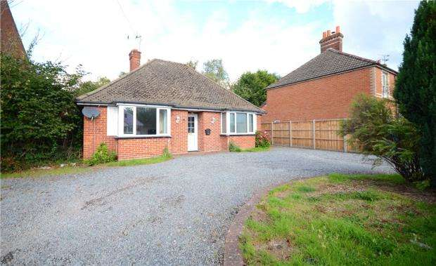 3 Bedrooms Detached Bungalow for sale in Southwood Road, Farnborough, Hampshire