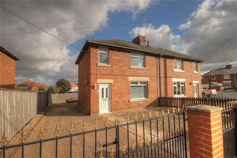3 Bedrooms Semi Detached House for sale in Simpson Road, West Auckland, Bishop Auckland, DL14