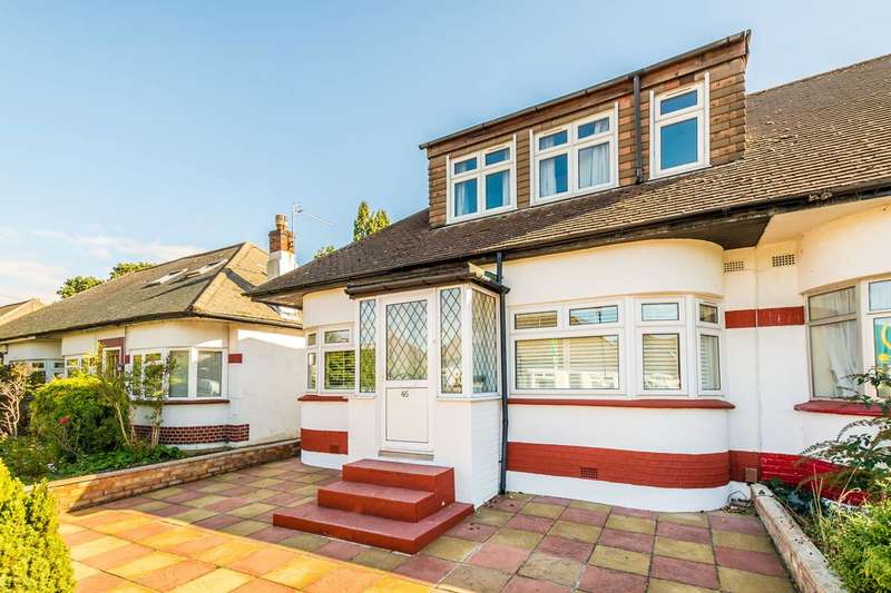 4 Bedrooms House for sale in Rosecroft Gardens, Twickenham, TW2